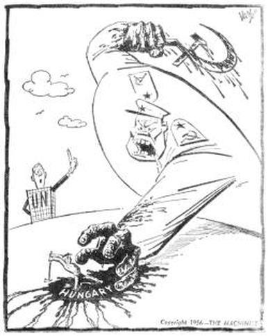 The Hungarian Uprising, 1956